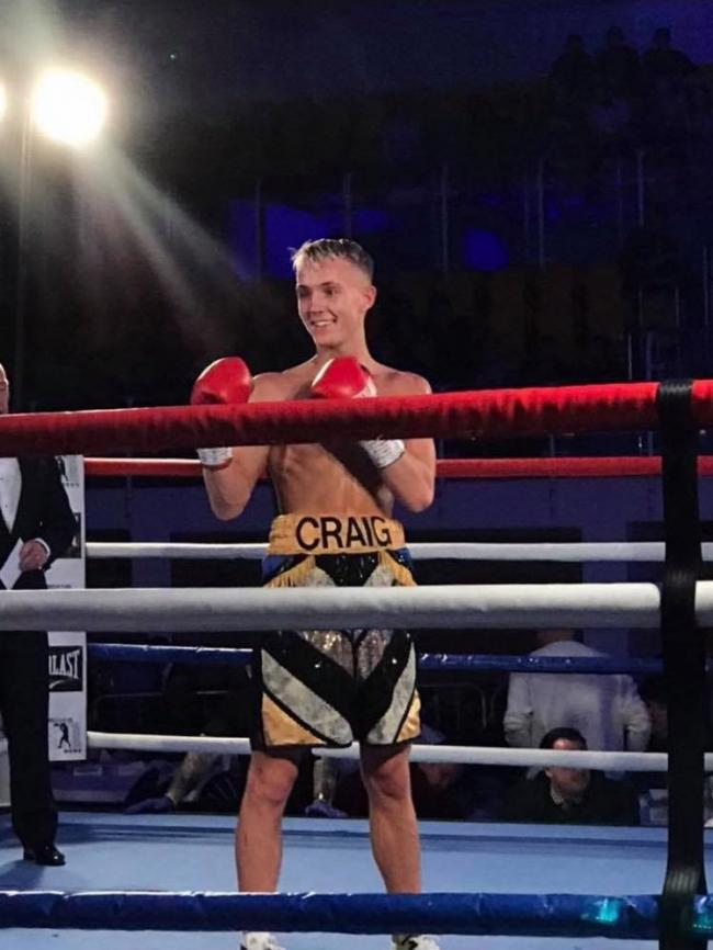 I'll do it for Connor: Kelty boxer will fight on in memory of his pal
