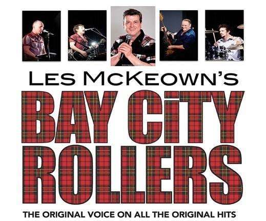 Les McKeown is bringing the Rollers sound to the Alhambra.