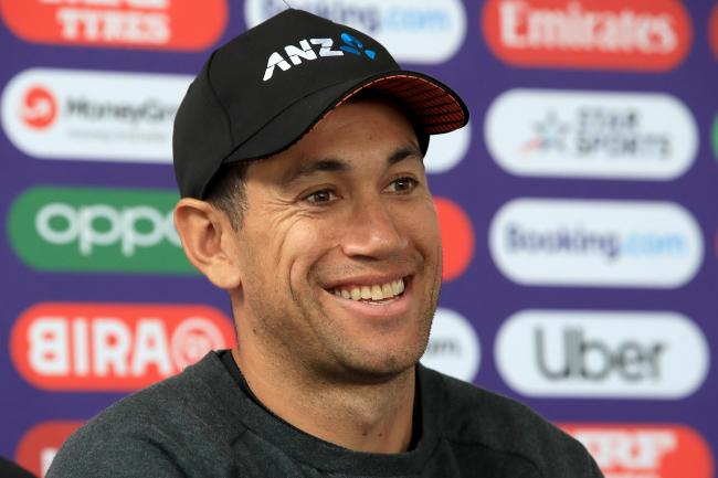 Ross Taylor is in optimistic mood ahead of Sunday's World Cup final (Owen Humphreys/PA)