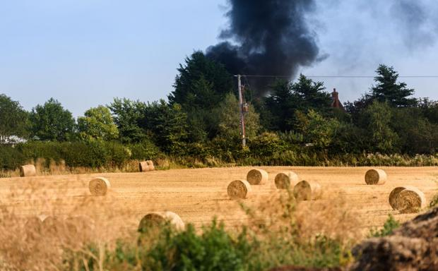 Central Fife Times: Farm waste was recently banned from traditional methods of burning it.