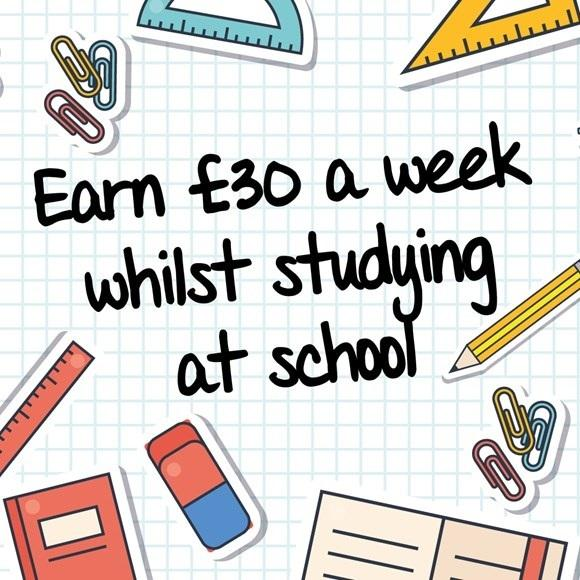 £30 per week to stay at school.