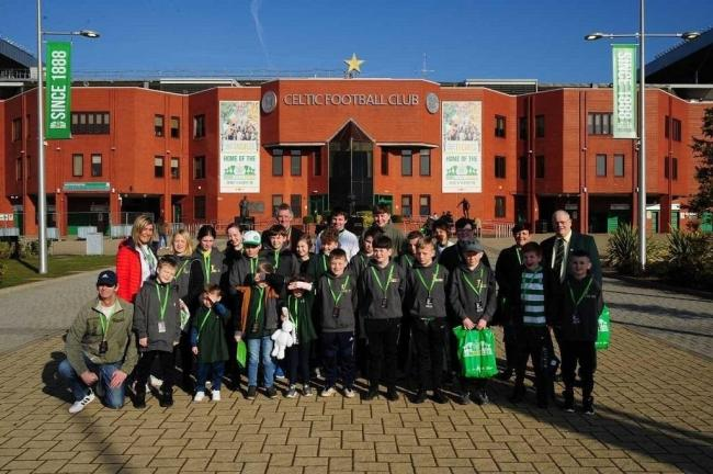 Last year's winners were visitors to Celtic Park.