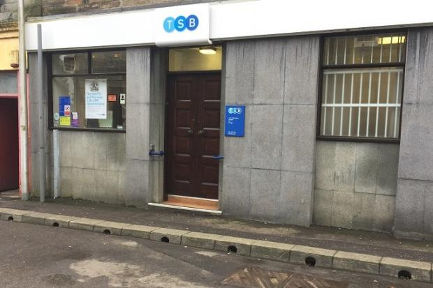 The plan was for the former TSB branch.