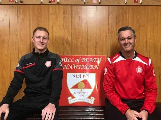 John Mitchell (right) and James Ferguson are looking ahead to guiding the Haws to success.