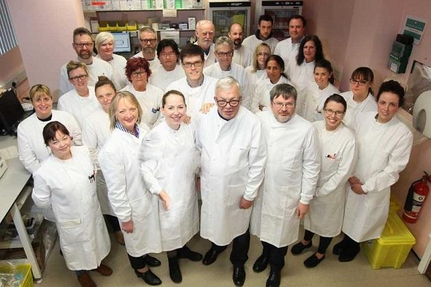 The Lab team are delighted with progress.