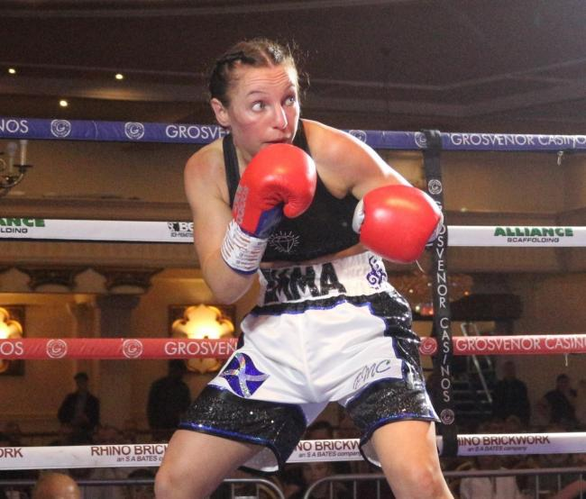 Emma McCulloch claimed the Celtic light flyweight title despite her scheduled opponent's shock retiral.