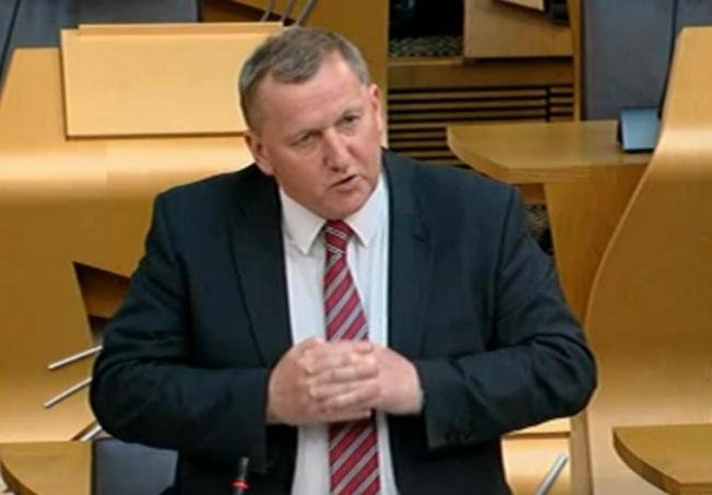 Alex Rowley says Fife is missing out on jobs.