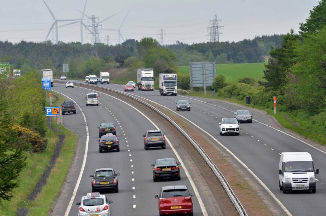 Smooth operators to carry out weekend of roadworks on A92 at Crossgates