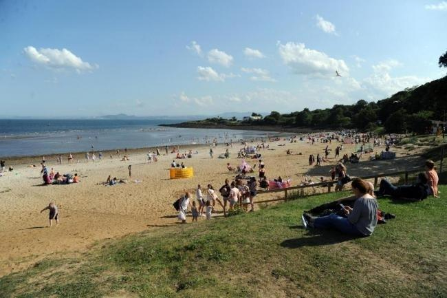 Annabelle Ewing's appeal for people to stay away from Aberdour's beaches.