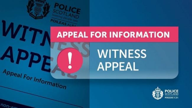Appeal for witnesses to incident on Ballingry Crescent.