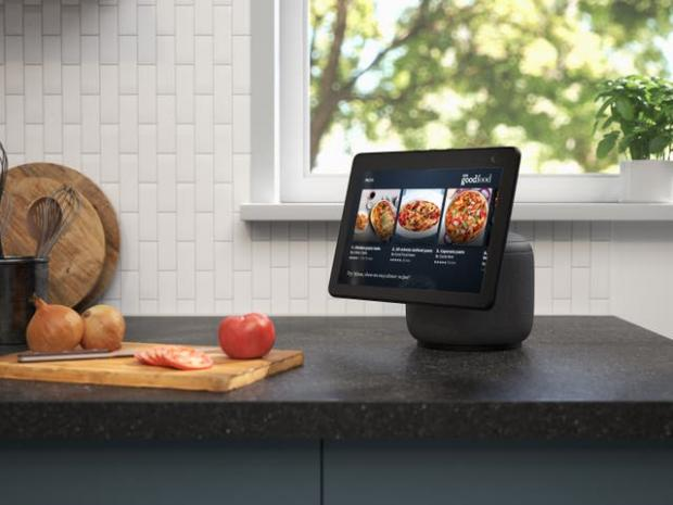 Central Fife Times: The new Echo Show screen can swivel to follow the user. Picture: Amazon