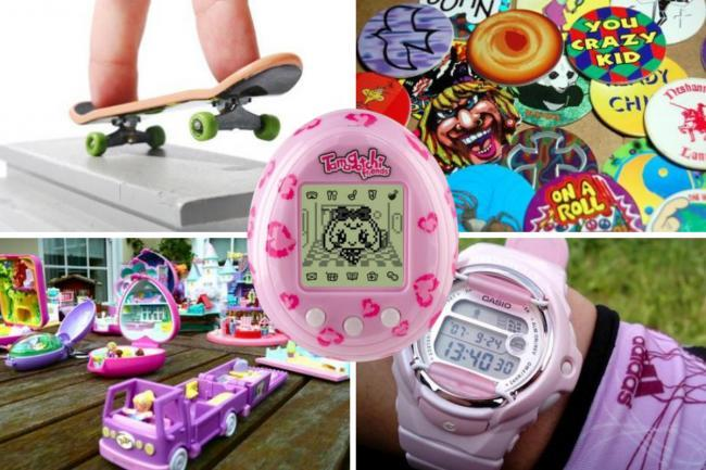 We've taken a trip down memory lane to bring you all the school crazes from the 90s