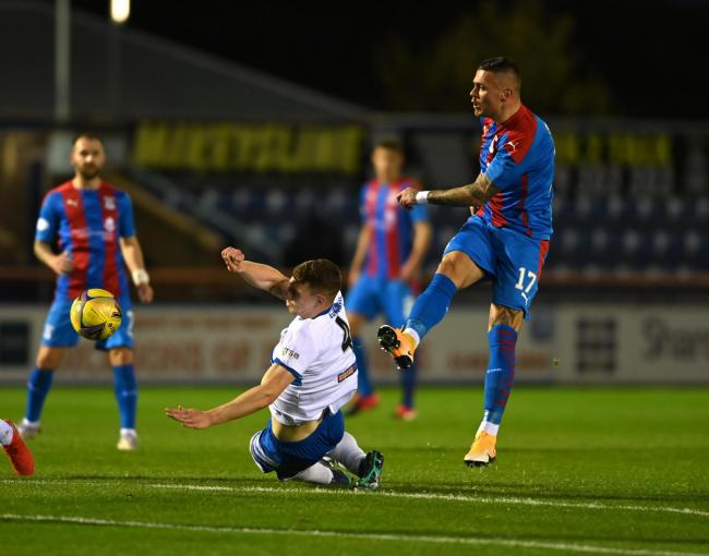Cowdenbeath held Thistle but lost out on a bonus point. Pic: @ICTFC Twitter