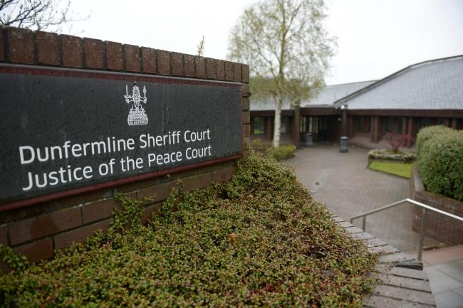 The man appeared at Dunfermline Sheriff Court last year but continued his behaviour afterwards