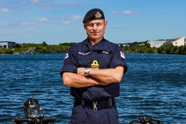 Lieutenant Commander Sean 'Central' Heaton