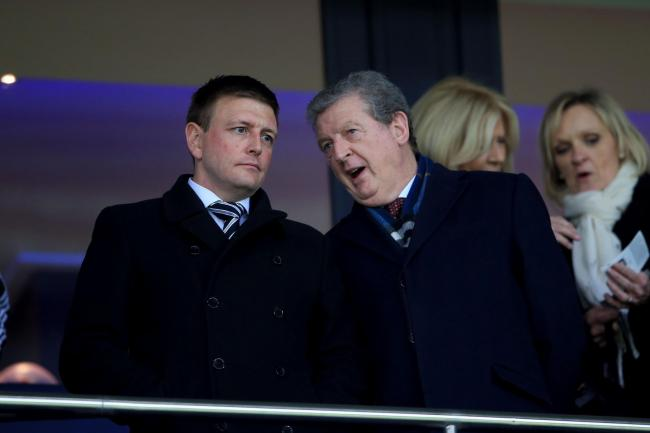Richard Garlick, left, will take up a position at Arsenal in the coming months