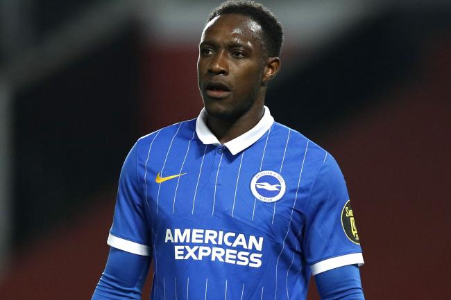 Brighton forward Danny Welbeck has two goals in as many Premier League games