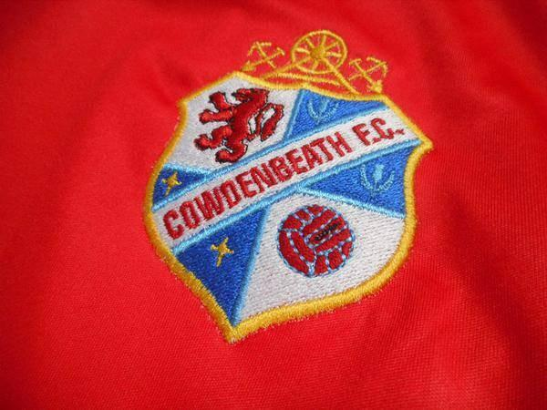 The Cowdenbeath badge.