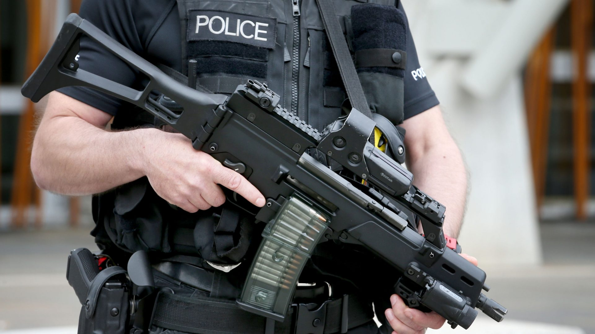 400 people were held for terror-related offences in Britain in the year to the end of September (Jane Barlow/PA)