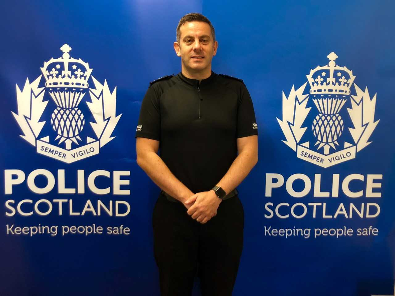 New top cop tells Fifers 'You've never been safer'