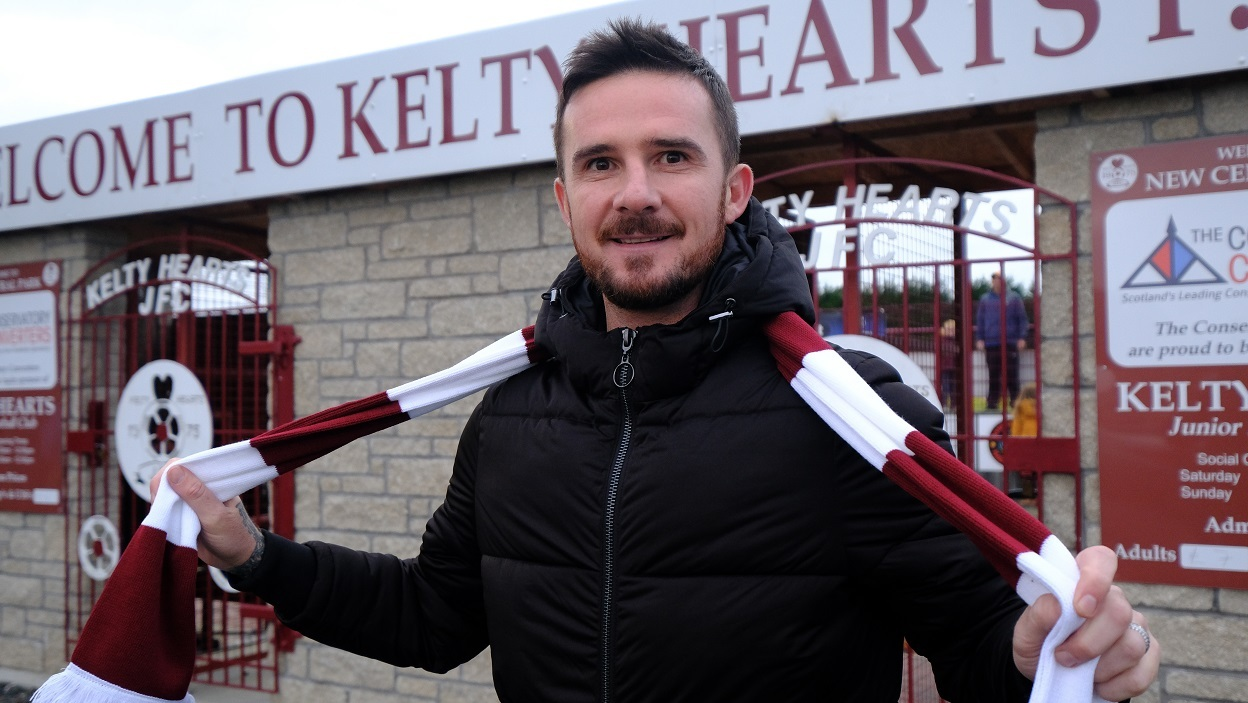Barry Ferguson joins up at Kelty.