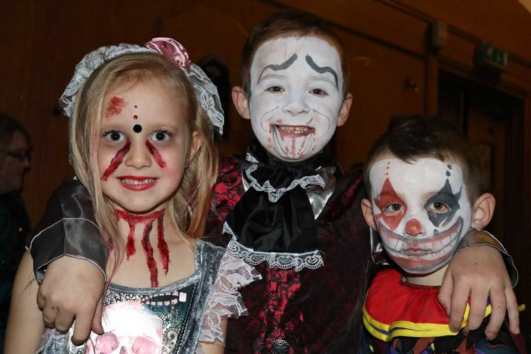 Some of the ghouls at large in Benarty!