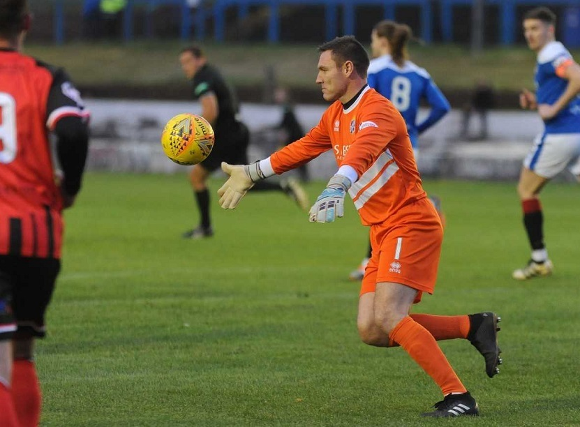 Dave McGurn made several good saves at key times.