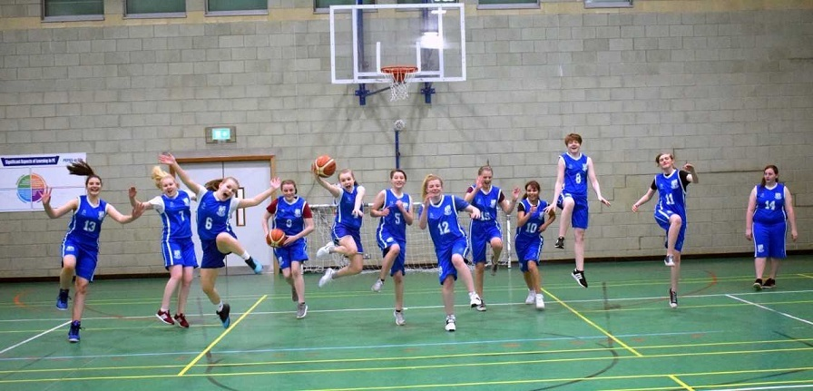 The highliy talnted basketball players.