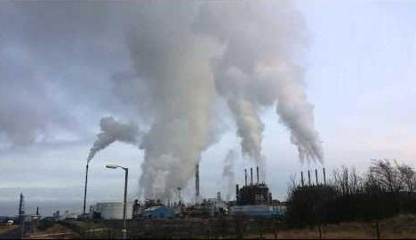 The Mossmorran Fife Ethylene Plant.