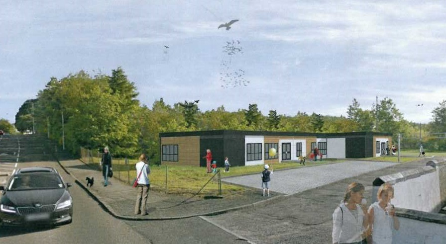 An artist's impression of the new facility.