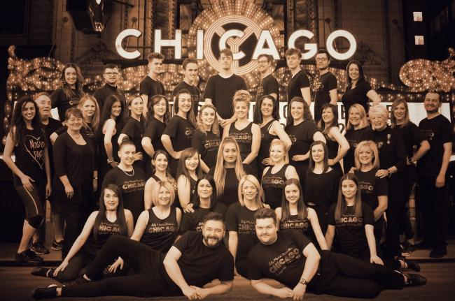 The cast of Chicago.