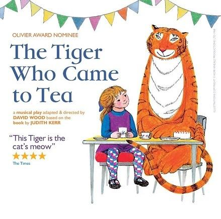 Win tickets to The Tiger Who Came To Tea..