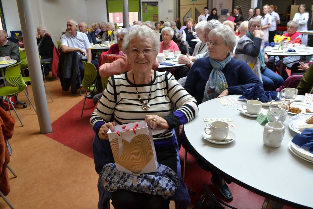 A great day at Lochgelly High for senior citizens.