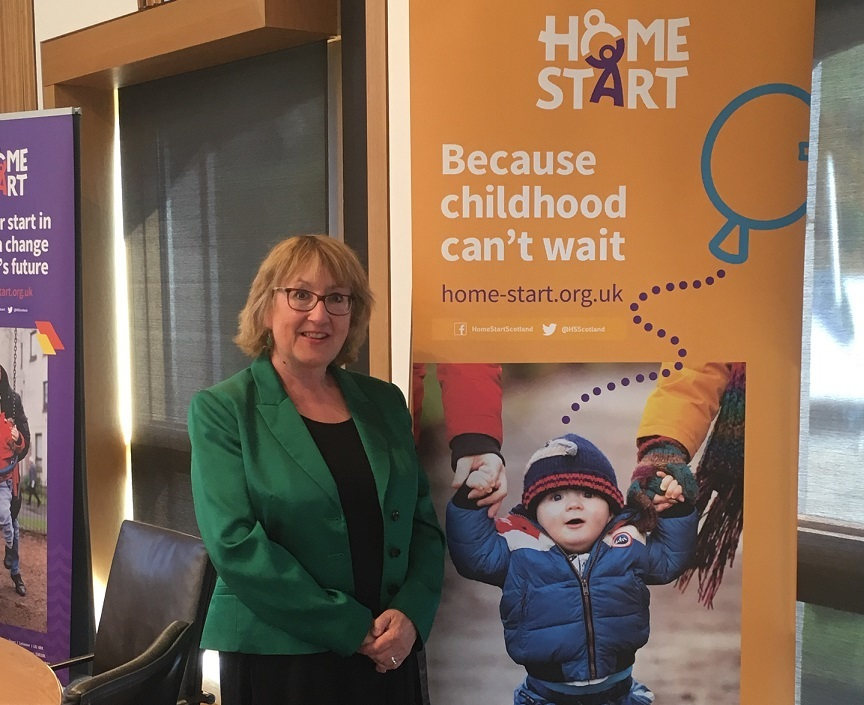 Annabelle Ewing praised the work of HomeStart at Holyrood.