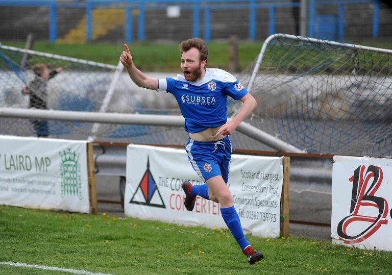 Kyle Miller after scoring against Clyde ready for another Blue Brazil season.