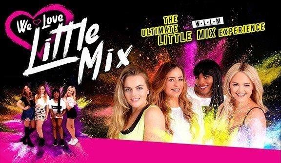 We Love Little Mix at the Centre.